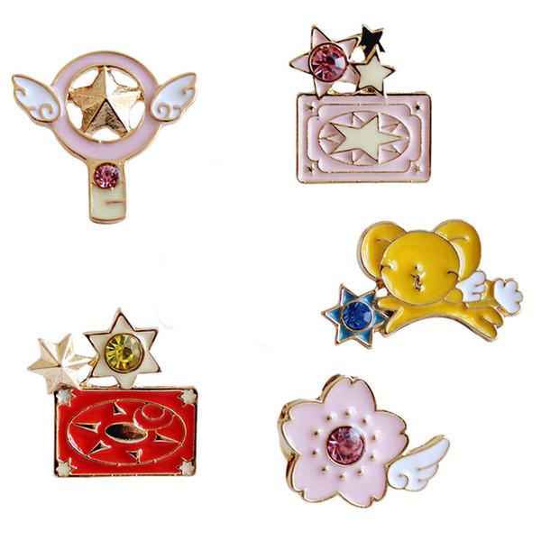 2020 Anime Cardcaptor Sakura Cartoon Pin Brooch Cosplay Prop
