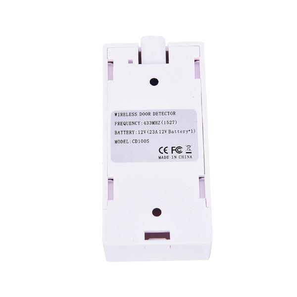 Alarma magnética 12V de la seguridad del contacto magnético del detector del sensor de la ventana de la puerta 433Mhz