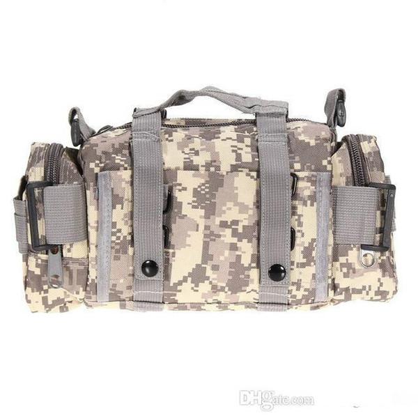Atacado-2018 Tactical saco de desporto Sacos 600D impermeável Tecido Oxford cintura Militar Pacote Molle Outdoor Bag Bolsa para Camping Caminhadas B04