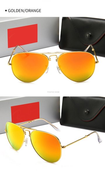 Gold Frame orange Lens