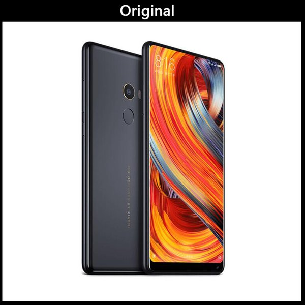 DHL Original Xiaomi Mi MIX 2 MIX2 6 GB 256 GB smartphone Telefone Snapdragon 835 Octa Núcleo de 5,99