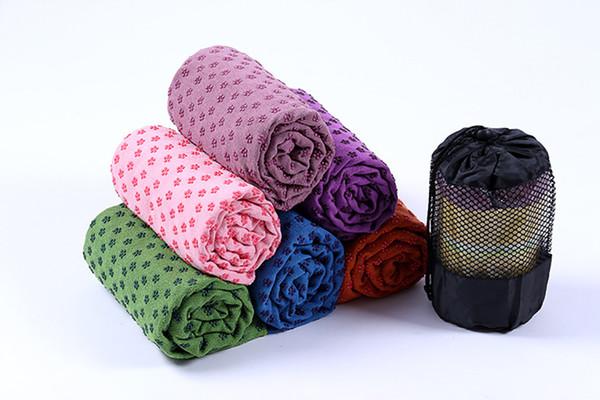 Tappetino antiscivolo Yoga Mat Asciugamano in microfibra Morbido Skidproof Star Yoga Asciugamano antiscivolo Tappetini Yoga Coperta Fitness Asciugamano UPS Spedizione gratuita