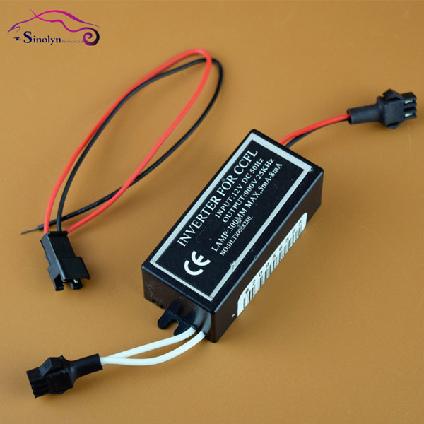2 PCS 12V CCFL inverter Angel Eyes Halo Rings Inverters Blocks Power Replacement Spare Car Light Source Universal