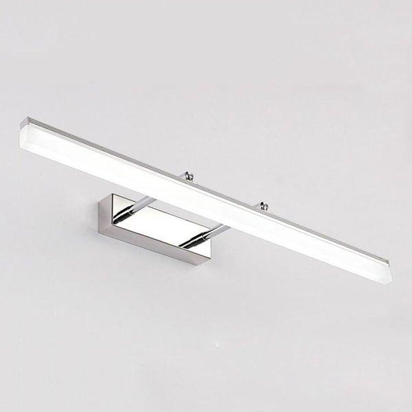 Indoor LED Luzes Do Banheiro Montado Na Parede Moderna LEVOU Lâmpadas de Parede para Casa de Prata de Ouro Imagem Luzes Arandelas Do Armário