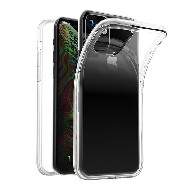 per iPhone 11 2019 11 pro max 2MM Per Samsung Galaxy A10S A20S A80 A90 A10E A20E Custodia in TPU trasparente Accessori per telefoni cellulari
