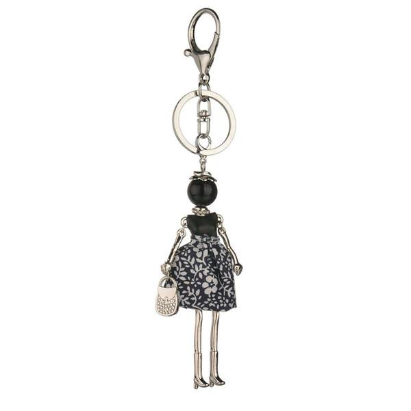 Neue Weinlese nette keychains Mädchen handgemachte Marke keychain Autoanhänger heiße Babyschlüsselkettenfrauen arbeiten Schlüsselringaussagenschmucksachen um