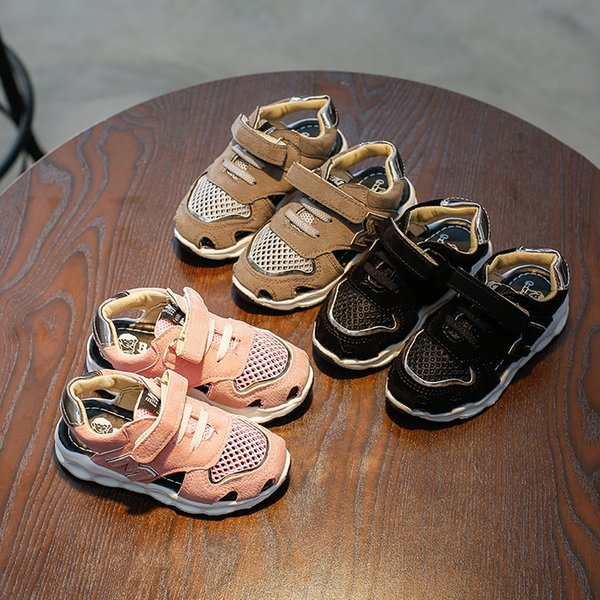Shoes For Cloth Sneakers Children Girl Leisure Time Sandals Half Sandals Kids Fashion Girls Heels