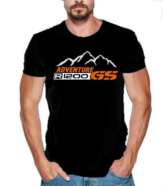 Brand Designer Summer Fashion men t-shirt 1200 GS T-S Adventure Moto black tee tshirt cotton Mercedes Scasual tops