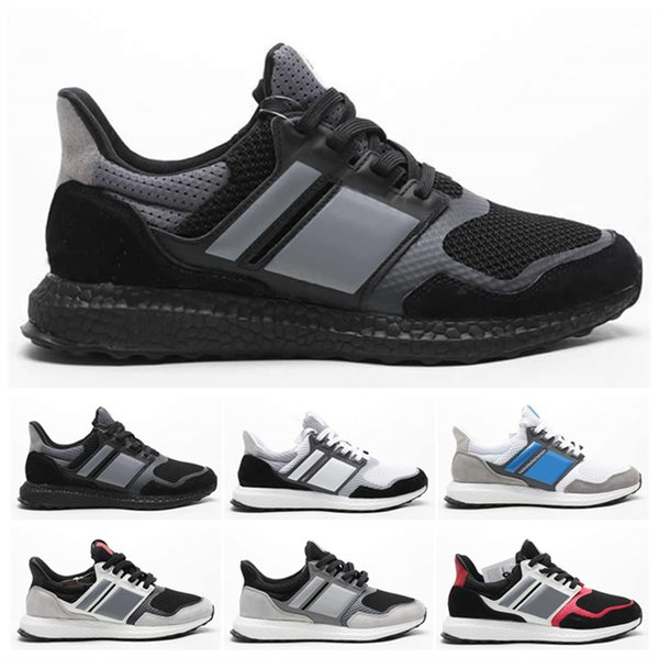 Pure Ultra UB4.0 Mens Running Shoes Men Women Top Quality UB 4.0 PK Triple Black Oreo Dynamic Heel Fit System 2019 Trainer Sneakers 36-45