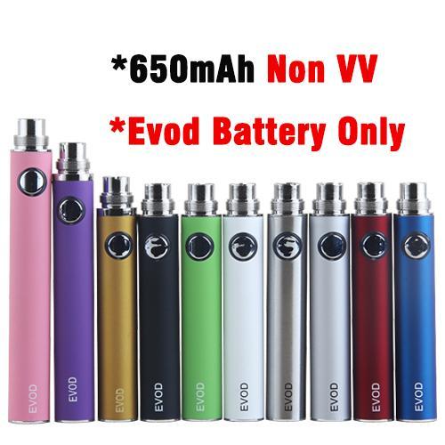 Las baterías 650mAh EVOD no VV