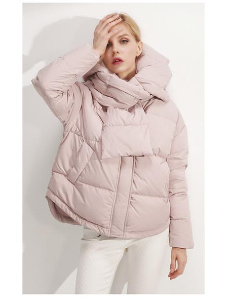 2019 Новая зима осень Женщины с длинным рукавом теплые куртки пальто ветрозащитный Casual Cotton женские толстовки пальто S M 89-240 V191209