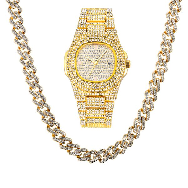 Gold Watch Chain