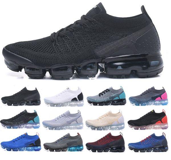 Air V2 Mens Designer Tênis de Corrida Mulheres Casual Air Cushion Trainers Zapatos Presto Ao Ar Livre Melhor Caminhadas Jogging Tênis Esportes Tamanho 36-45