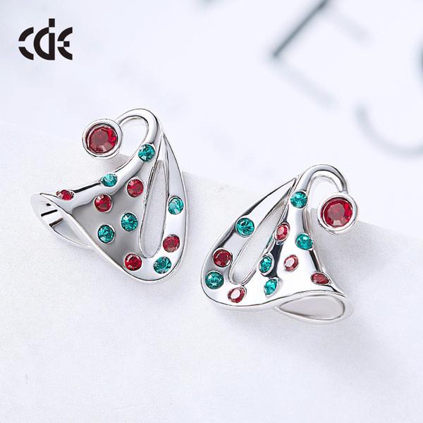 L'orecchino dei monili del diamante della signora della donna della perla del regalo della perla della festa nuziale per la sposa che si comporta la laurea di iniziazione CDE-891