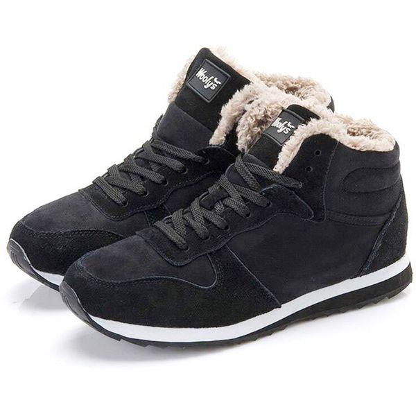 Lace Schuhe Up Flock Neu Warm Großhandel Herren Tennis Fur Stiefel Von Stiefeletten Winter Sneakers Botas vfb7gY6yI