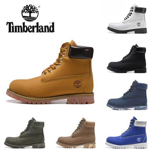 Top Sale Brand Luxury Designer Boots For Mens Womens Girls Tbl Black White Red Camo Leather Winter Boots Work Ankle Sneakers Shoes