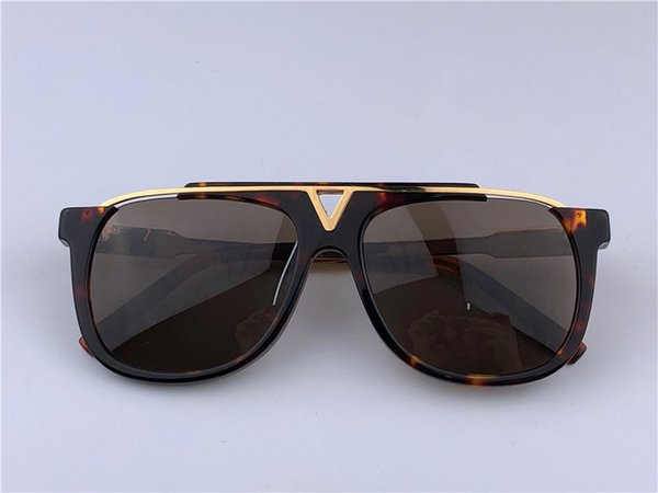 Louis Vuitton LV0937 new lady tasarımcı güneş gözlüğü yuvarlak moda metal sunglass degrade renkler orijinal yeni tasarım kutusu ile gel