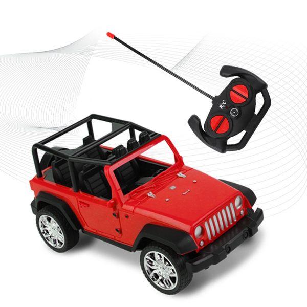 Télécommande de véhicule hors route à quatre voies Télécommande voiture de course voiture enfant Vente chaude modèle jouet