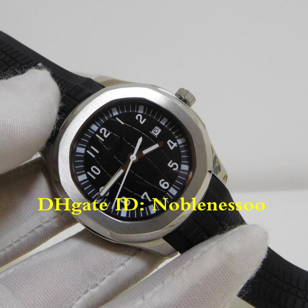 Orologio da uomo di stile 9 di lusso Classico Aquanaut Nautilus 5711 / 1A-010 Cinturino in gomma nera da uomo Orologio da uomo meccanico automatico trasparente