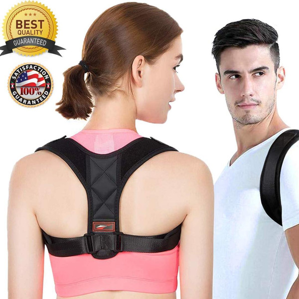 S-XL Back Support Therapy Shoulder Magnetic Posture Corrector for Girl Student Child Men Adult Braces bodysuits men corset