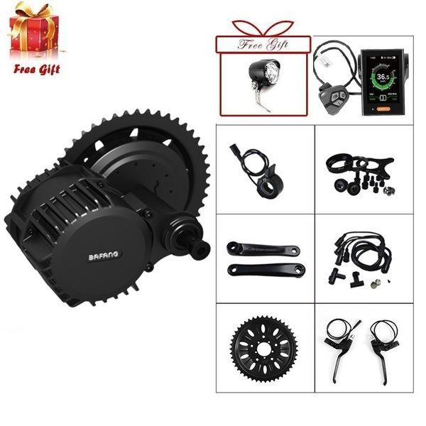Bafang / 8FUN BBSHD 48V 1000W 100 MM Ancho Ebike Electric Bicycle Motor 8fun Mid Drive Electric Bike Kit de conversión para grasa ebike
