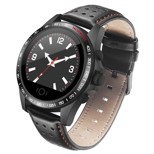 CK23 1.22inch TFT Bluetooth Smart Watch Waterproof Continuous Heart Rate Telecare High capacitance for Low power motor Touch manipulation