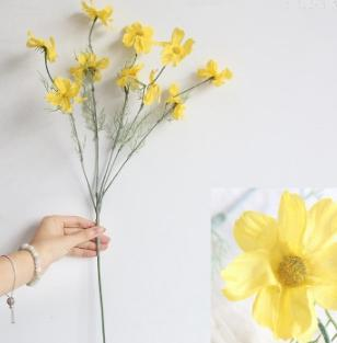 # 3 Fleur de chrysanthème en soie