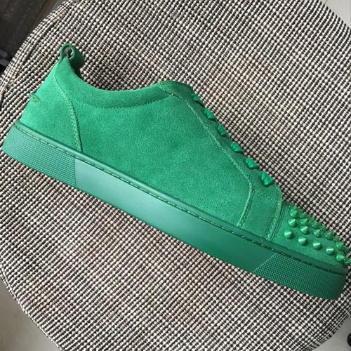 зеленый замши