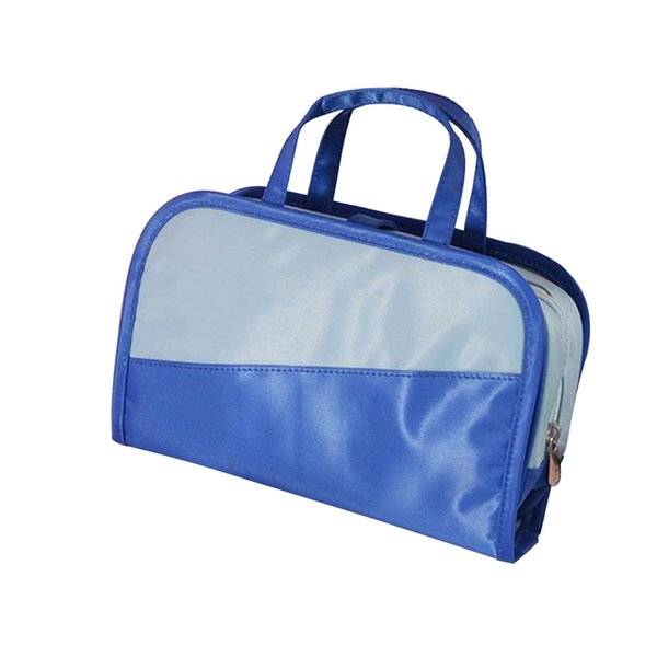 Bathroom Wash Handbag Makeup Bag Large Capacity Travel Storage Casual Dustproof Carrying Cosmetic Case Small Inner Visible