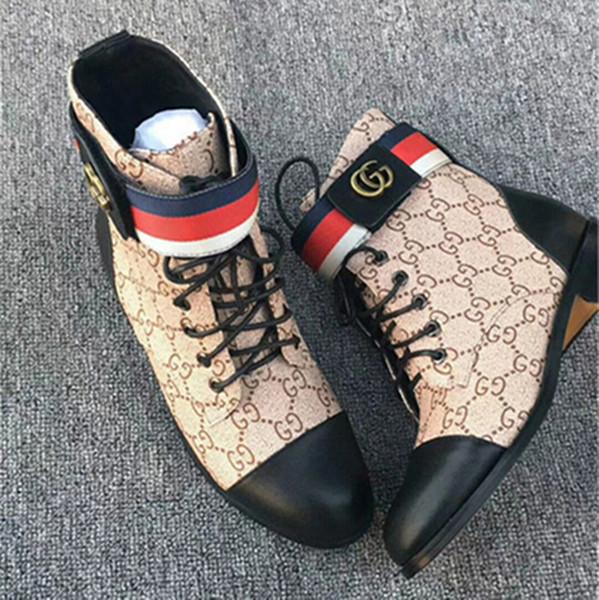 donne stivali da neve invernali in pelle artificiale spessa con stivali antiscivolo donna scarpe peluche moda stivali Martin tacco alto moda