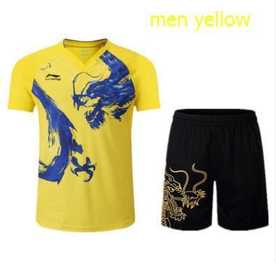 men yellow set
