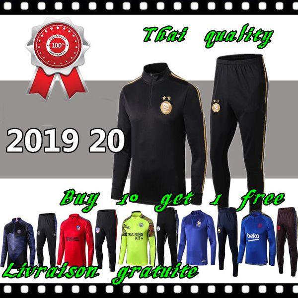 Copa Africana de Campeones 2 Estrellas argelia MAHREZ manchester city de entrenamiento de fútbol 19 20 Algérie Survetement maillot de foot FEGHOUL chándal de fútbol