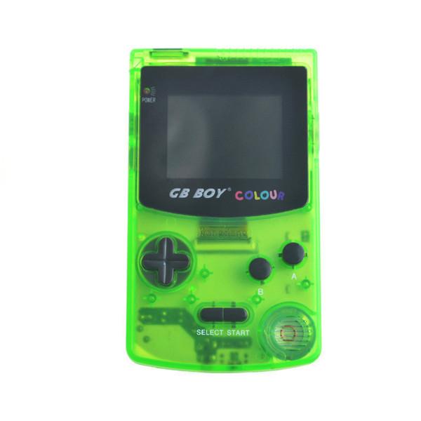 2019 Novo 5 Cores Transparentes GB Boy Retro Clássico Handheld Game Console Máquina de Jogos de 2.7