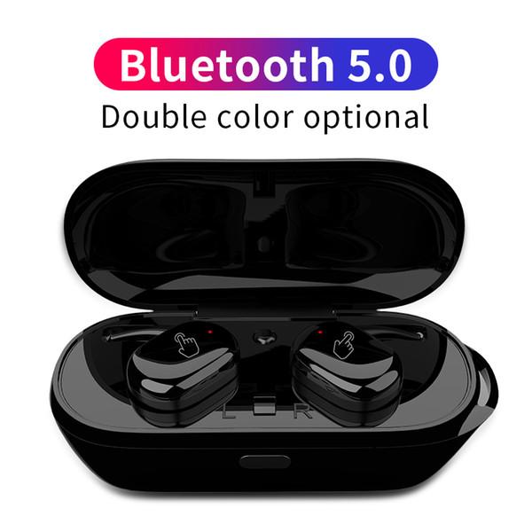 T2C TWS Sans fil Mini Bluetooth Écouteur Pour Xiaomi Huawei Mobile Écouteurs Stéréo Sport Oreille Téléphone Avec Micro Portable Boîte De Recharge