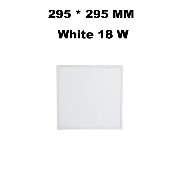 295*295 MM White 18 W