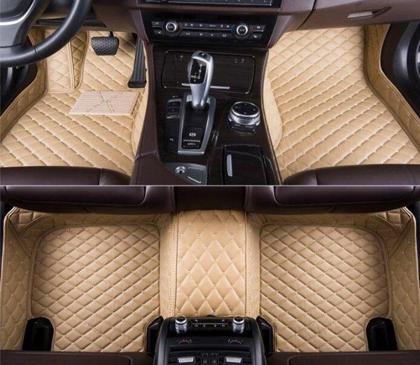 best selling Fit for Kia Niro 2017~2018 Waterproof Car Floor Mat All-Weather WaterproofNon-slip Carpets Non toxic and inodorous