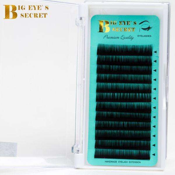 Big Eyes Secret Factory Supplies Individual Eyelash Trays Curl J B C D L High Quality Lashes Private Label Eyelash Extension
