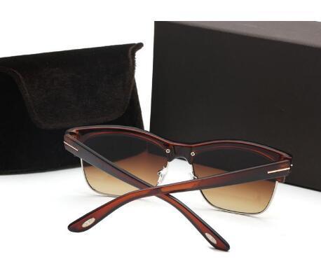 2019 Sıcak Satmak Kare TF1936 vintage kadın erkek güneş gözlüğü marka tasarımcı logo ile en çok satan tom güneş gözlükleri ücretsiz kargo B9562