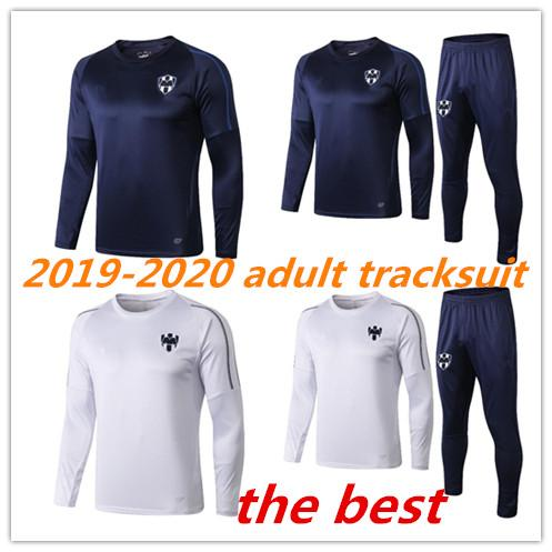 Camisetas de fútbol de chándal adulto Monterrey D.PABON R.FUNES MORI camiseta de fútbol 2019 Monterey jersey ropa de entrenamiento El tamaño se puede mezclar por lotes