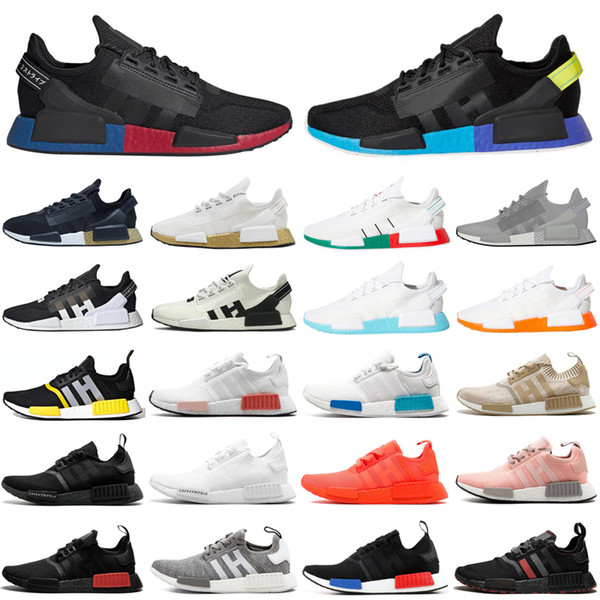 2020 Nmd R1 V2 Men Women Running Shoes Og Core Black White Gold Outdoor Breathable Mens Trainers Sports Sneakers Size 36 45 Buy At The Price Of 43 95 In Dhgate Com Imall Com