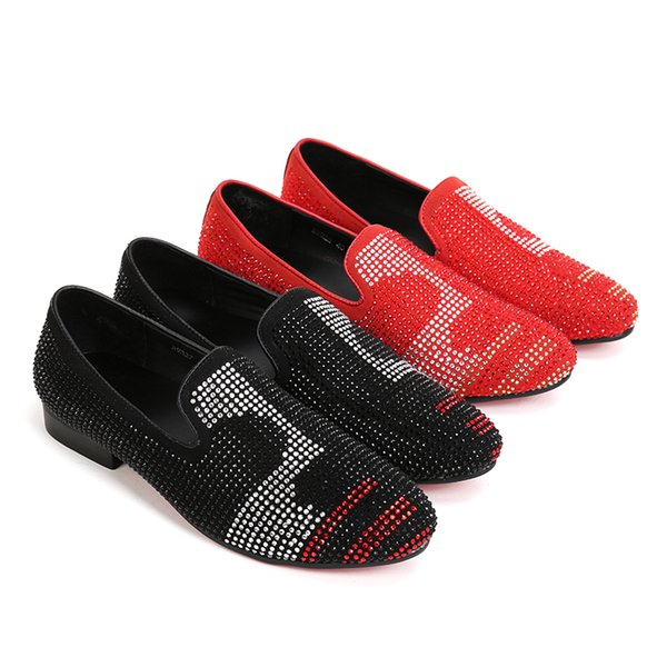 Cheap tip of the diamond business personality leisure Korean version of the summer set of breathable leisure shoes