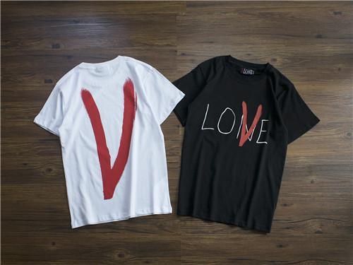 2019 fashion t-shirt Vlones ins popular designs tee fashion made in Paris T-shirt for men and women designers free shipping