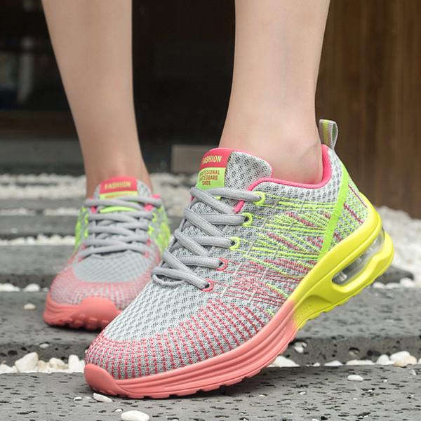 Zapatillas Zapatos Transpirable Deportivos Compre Deporte De Para Malla Exterior Nuevas Mujer Amortiguador xrdeQoCBW