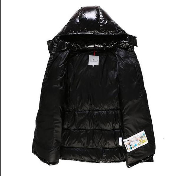 Lettersmoncler WINDBREAKER Parkas Açık Coats ile ceketler Moda Marka Doudoune Erkekler Aşağı Coats aşağı Kış Erkekler Isınma Kadın Ceket Bezi
