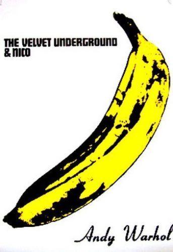 THE VELVET UNDERGROUND Andy Warhol Banana Art Silk Poster 24x36inch 24x43inch 0587