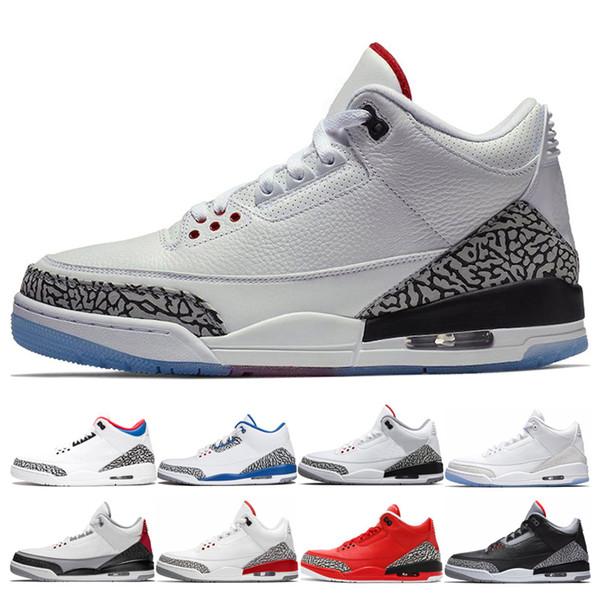 Luxus Freiwurf Linie Basketball Schuhe Herren Großhandel QS Katrina True Blue Black Zement Dankbar Korea JTH Fire Red Sport Sneaker Schuhe