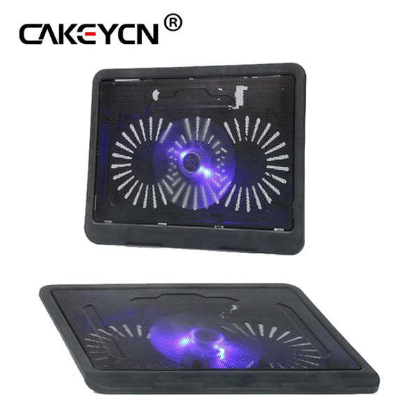 14 inches or less laptop Cooling Pad Laptop Cooler USB Hub with Big Cooling Fans Light Notebook Stand and Quiet Fixture