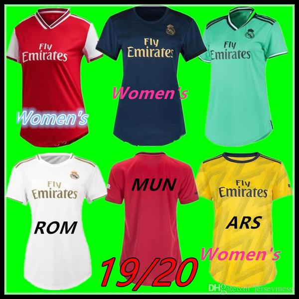 19 20 maglia da calcio di Madrid Donne Jersey di calcio femminile 19/20 del calcio Jersey BAR TOT MUN CHE LIV ARS