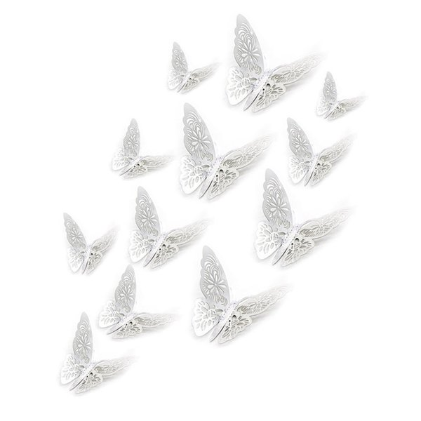 New 3d Hollow Wall Stickers Butterfly Fridge For Home Decoration Wedding Party Wall Decor 2019 Simple Wedding Decoration Ideas Traditional Wedding Decorations From Kiss U 1 61 Dhgate Com