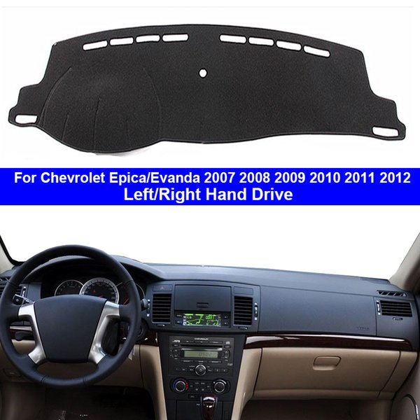 car dashboard cover dash mat carpet cape for epica evanda 2007 2008 2009 2010 2011 2012 lhd rhd 2 layers auto sunshade